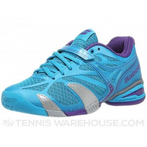 Zapatilla Babolat Propulse 4 Color Azul/pulpura