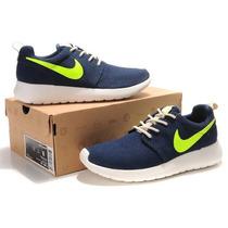 Zapatilla Nike Roshe Run Azul Marine