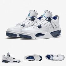 Zapatillas Nike Air Jordan 4 Retro | Legend Blue Origen 100%