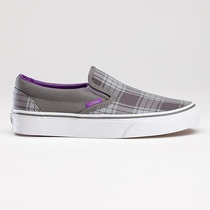 Vans Slip On Clasicas Custom Plaid