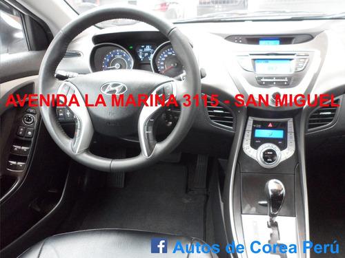 Hyundai Elantra, Año 2012, Sist. Glp Original, Imp. De Corea