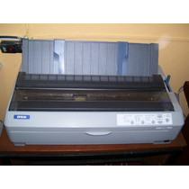 Impresora Epson Fx/2190- Salida Usb-planillera-garantia