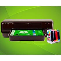 Impresora Hp 7110 Formato Ancho A3 Con Sistema Continuo