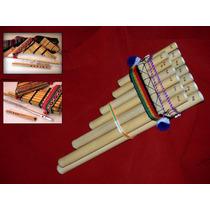 Zampoñas Peruanas Quenas Y Flauta Dulce