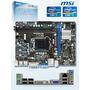 Motherboard Msi H61m-p31/w8, Lga1155, H61, Ddr3, Sata 3.0