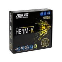 Placa Madre Asus H81m-k Lga1150 Intel H81 Ddr3 Liquidacion!