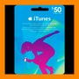 Itunes Apple Card $50 Para Ipod Iphone Tarjeta Prepago