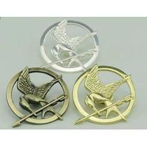 Hunger Games Sinsajo Pin Broche Luce Como Oro Plata Bronce