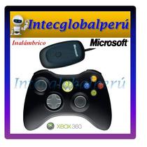 Gamepad Inalámbrico Microsoft Xbox 360