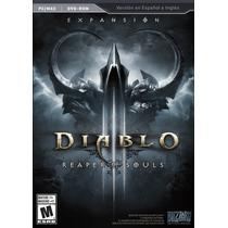 Diablo Iii 3 Reaper Of Souls - Pc - Nuevo Y Sellado