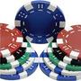 100 Fichas De Poker 11.5 Gms Con Estuche De Acrilico !!!