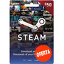 Steam Gift Card $50 En Pc Linux Mac Para Steam Valve Wallet