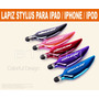 Lapiz Stylus Pen Iphone 5s 5c Ipod Touch Samsung Note Ipad 5