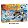 Chima, Dientes De Sable Machine, Marca Bela, 414 Pcs