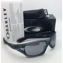 Oakley Pit Bull- Cristal Black-black Iridium 100% Origuinal