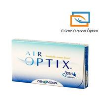 Lente De Contacto Air Optix Aqua Para Miopía O Hipermetropía