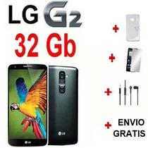 Lg G2 32 Gb 4g Lte 5.2 In 13mp Quadcore Libre +4 Regalos..!!