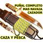 Puñal Grande Mas Cuchilla Cazador - Caza Pesca Buceo Camping