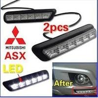 Mitsubishi Asx 2010-2012 Luz Diurna Debajo De Los Neblineros