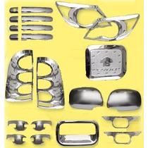 Kit Accesorios Cromados Toyota Hilux/vigo 05-09 S/. 450