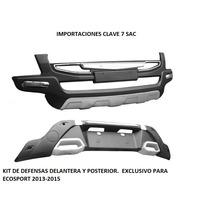 Defensa Delantera Y Posterior Ford Ecosport 2013-2015
