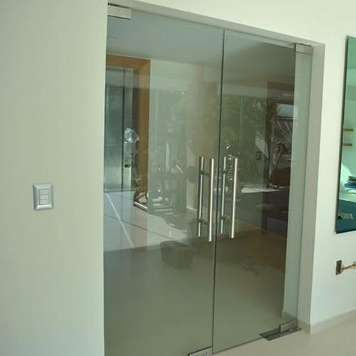 Puertas de ba o en vidrio templado - Cristal para puerta ...