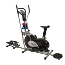 Bicicleta Eliptica Multifuncional 10en1 + Disco + Escaladora