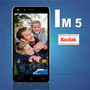 Smartphone Kodak Im5 8gb Dual Sim Black Sellado Garantia