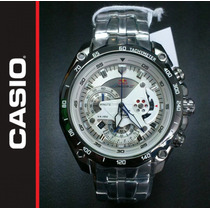 Reloj Casio Edifice Ef-550rbsp-7av White Red Bull 2014