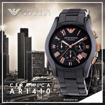 Reloj Emporio Armani Ceramica Ar1410 - 100% Nuevo Y Original