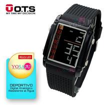 Relojes Ots Deportivos Led Digital Unisex