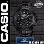 Reloj Casio Edifice Ef-535bk-1av - Original!! Nuevo En Caja