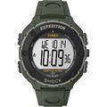 Reloj Timex Shock Resistant, Alarma Que Vibra, Verde Militar