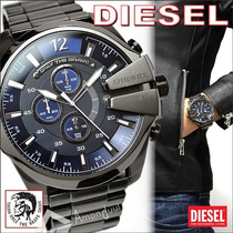 Reloj Diesel Dz4329 Mega Chief Series Cronógrafo Nuevo Caja
