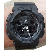 Reloj Casio G-shock Ga-100-1a1 - Nuevo Y Original En Caja