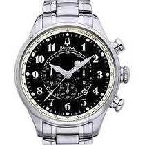 Reloj Bulova 96b138 Stainless Steel Cronografo C/nuevo