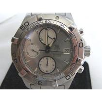 Tag Heuer Aquaracer Cal 16 Caf2111 Dial Plata-chrono Usado