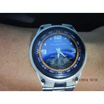 Reloj Casio Iluminator Fishing Gear Aw-82 Dual Time