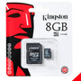 Memoria Micro Sd Hc 8 Gb Kingston Original Sellada Nueva