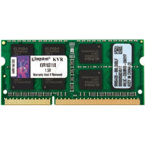 Memoria Sodimm Kingston Para Laptop Ddr3 8 Gb Kvr16s11/8