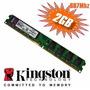 Memoria Kingston 2gb Ddr2 667mhz Pc2-5300, Presentacion Caja