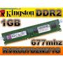 Memoria Ram Ddr2 De 1gb Buss 667