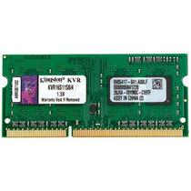 Memoria Kingston Ktt-s3cl/8g, 8 Gb, Ddr3, 1600 Mhz, Sodimm.