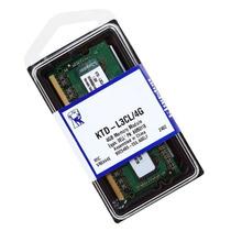 Memoria Kingston Ktd-l3cl/4g, 4 Gb, Ddr3, 1600 Mhz, Sodimm.