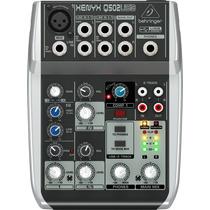 Mezcladora Behringer Xenyx Q502 Usb 5 Canales Nuevo Original