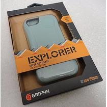 Griffin Explorer Funda Iphone 5/5s Super Duty+ Mica