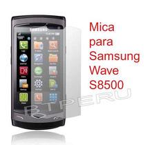Mica Film Protector De Pantalla Lamina Samsung Wave S8500