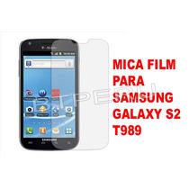 Mica Film Protector Pantalla Para Samsung S2 T989 Galaxy