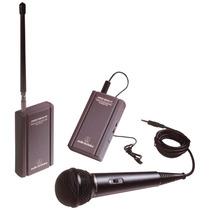 Microfono Wireless Atr288w Inalambrico Lavalier Y De Mano