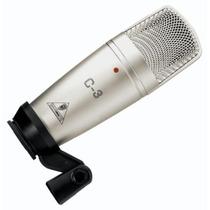 Behringer C3 Micrófono Condensador Doble Diafragma Estudio